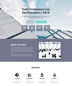 Landing-Page-Tech-Conference